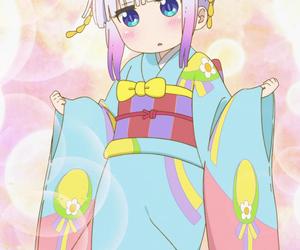 anime, kawaii, and kanna image