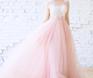 fashion, princess, and wedding image