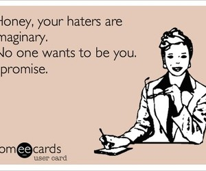 ecard, hater, and lol image