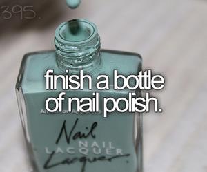 nail polish and bucket list image