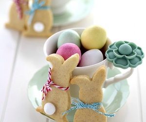 happy easter, pastel, and sweet image