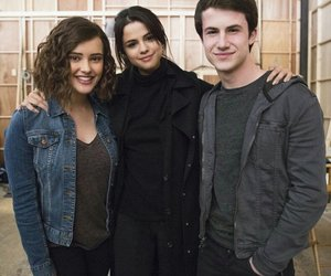 selena gomez, 13 reasons why, and katherine langford image