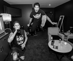 mike fuentes, pierce the veil, and ptv image