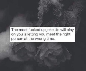 fucked up, grey, and joke image