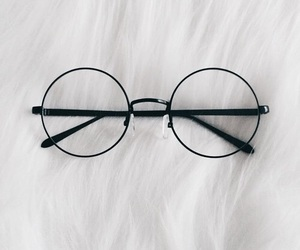 glasses, accessories, and style image