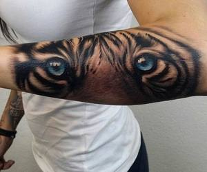 tattoo, tiger, and Tattoo Designs image
