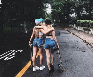 friends, girls, and friendship image