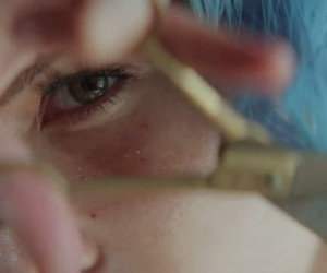 aesthetic, blue, and halsey image