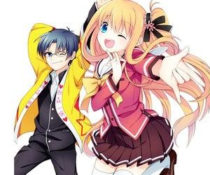 anime, charlotte, and шарлотта image