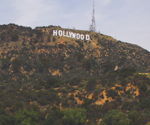 california, city, and hollywood image