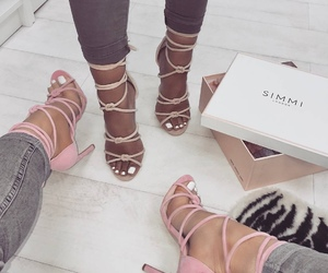 shoes, heels, and simmi image