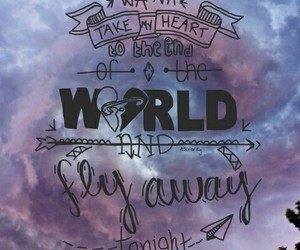 fly away, Lyrics, and 5 seconds of summer image