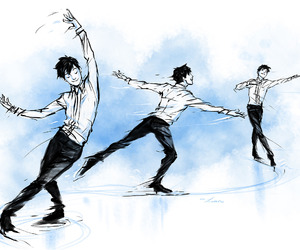 anime, yuri on ice, and yuri katsuki image