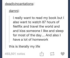 tumblr, book, and funny image
