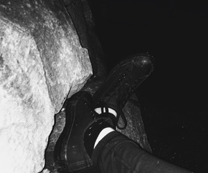 converse, cool kids, and depressed image