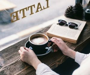 coffee, vintage, and book image