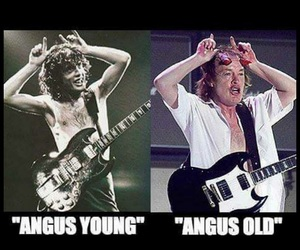 ac dc, angus young, and divertido image