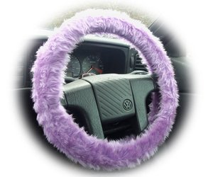 fuzzy, car accessories, and lavender image