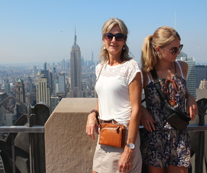 mom, mother and daughter, and new york image