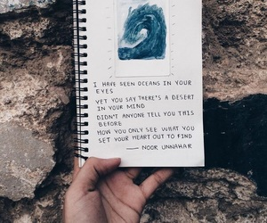 journal, poetry, and quotes image
