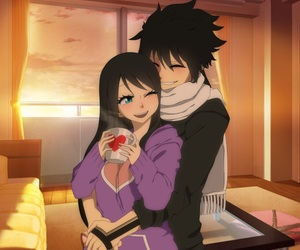 OC, fairy tail, and anime couples image