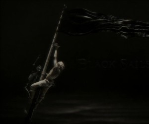 tv series, black sails, and pirates image