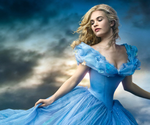 beautiful, Cinderella, and blue image