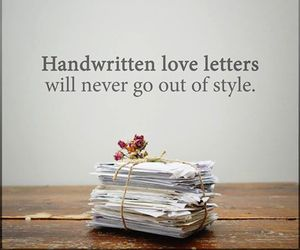 love, Letter, and style image