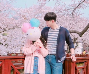 korean, ulzzang, and asian couple image