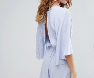 blue, fashion, and open back image