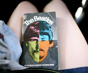 book, beatles, and hipster image