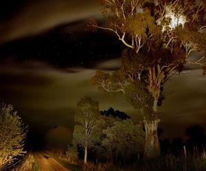 australia, cloud, and moon image