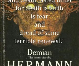hermann hesse, novel, and demian image