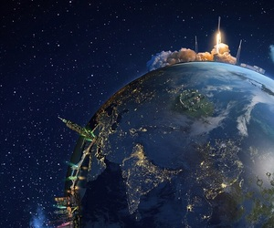 wallpaper, space, and world image