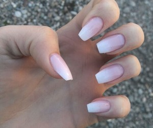fashion, ombre, and nails image