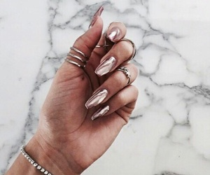 mode, nails, and love image