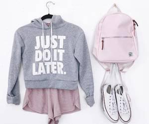 converse, grey, and fashion image