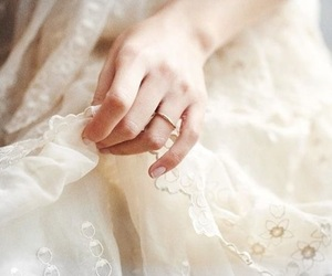 delicate, hand, and lace image