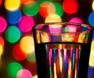 glass, light, and colorful image