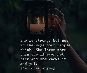 quotes, strong, and love image
