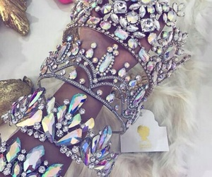 fashion, princess queen, and beautiful love glam image