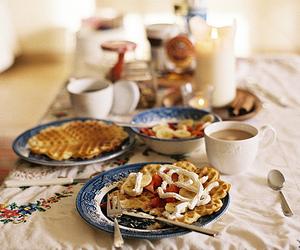 food, breakfast, and vintage image