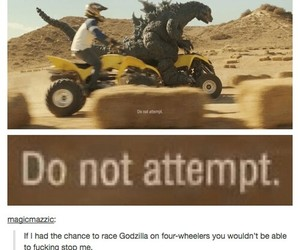 funny, Godzilla, and lol image