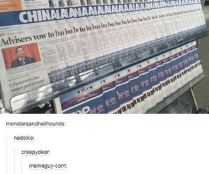china, funny, and lol image