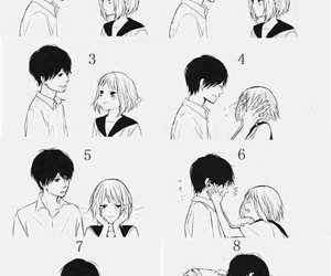 cute, couple, and anime image