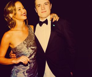 couple, hungergames, and perfect image