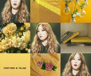 beautiful, snsd, and yellow image