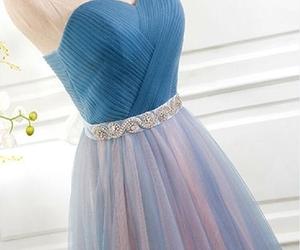 dress, evening dress, and fashion girl image