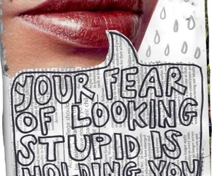 quotes, fear, and art image