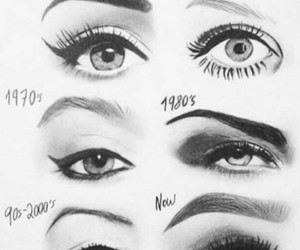 1950's, make up, and 1980's image